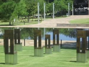 Oklahoma City Memorial Chairs