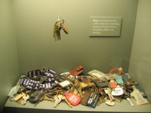 Keys at Oklahoma City Memorial