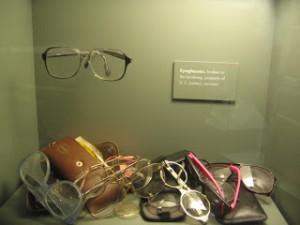 Glasses at Oklahoma City Memorial