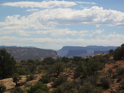 Arches National Park panorama view