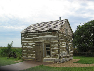 cabin at Homestead National Monument