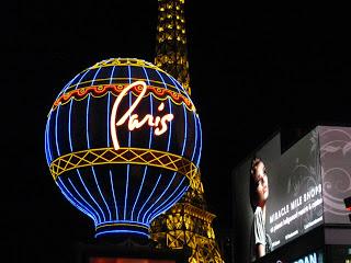 The Strip in Las Vegas - Paris