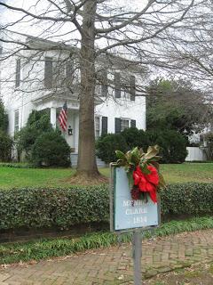 antebellum home in Huntsville Alabama