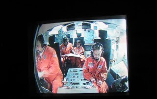 simulated mission control at Space Camp