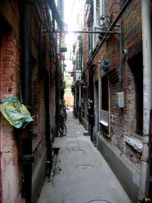 Lane in Shanghai