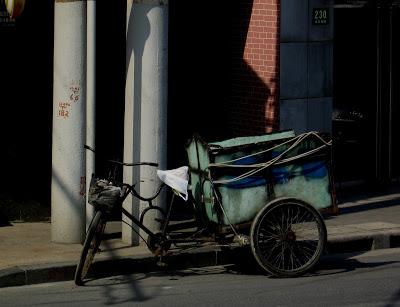 Transport bike in Shanghai