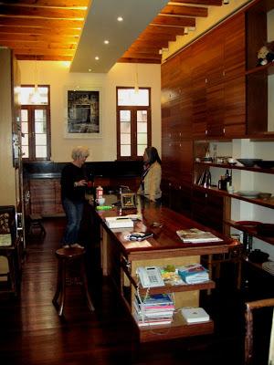 modern kitchen in historic lane house in Shanghai