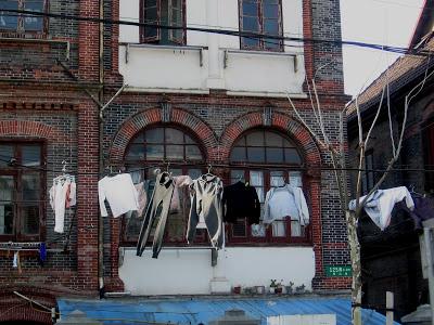 laundry in Shanghai