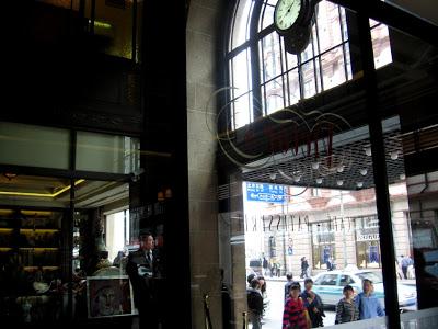 Art Deco passage way in Shanghai