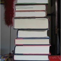 stack of books to be read