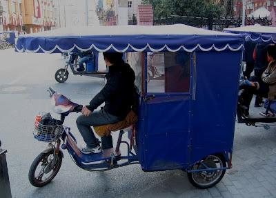 bike rikshaw in Shanghai