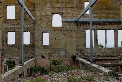 Ruin of Warden's House at Alcatraz