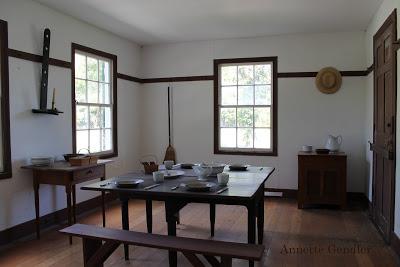 Shaker Village dining room