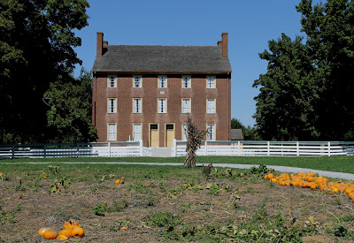 red brick family dwelling house at Shaker Village
