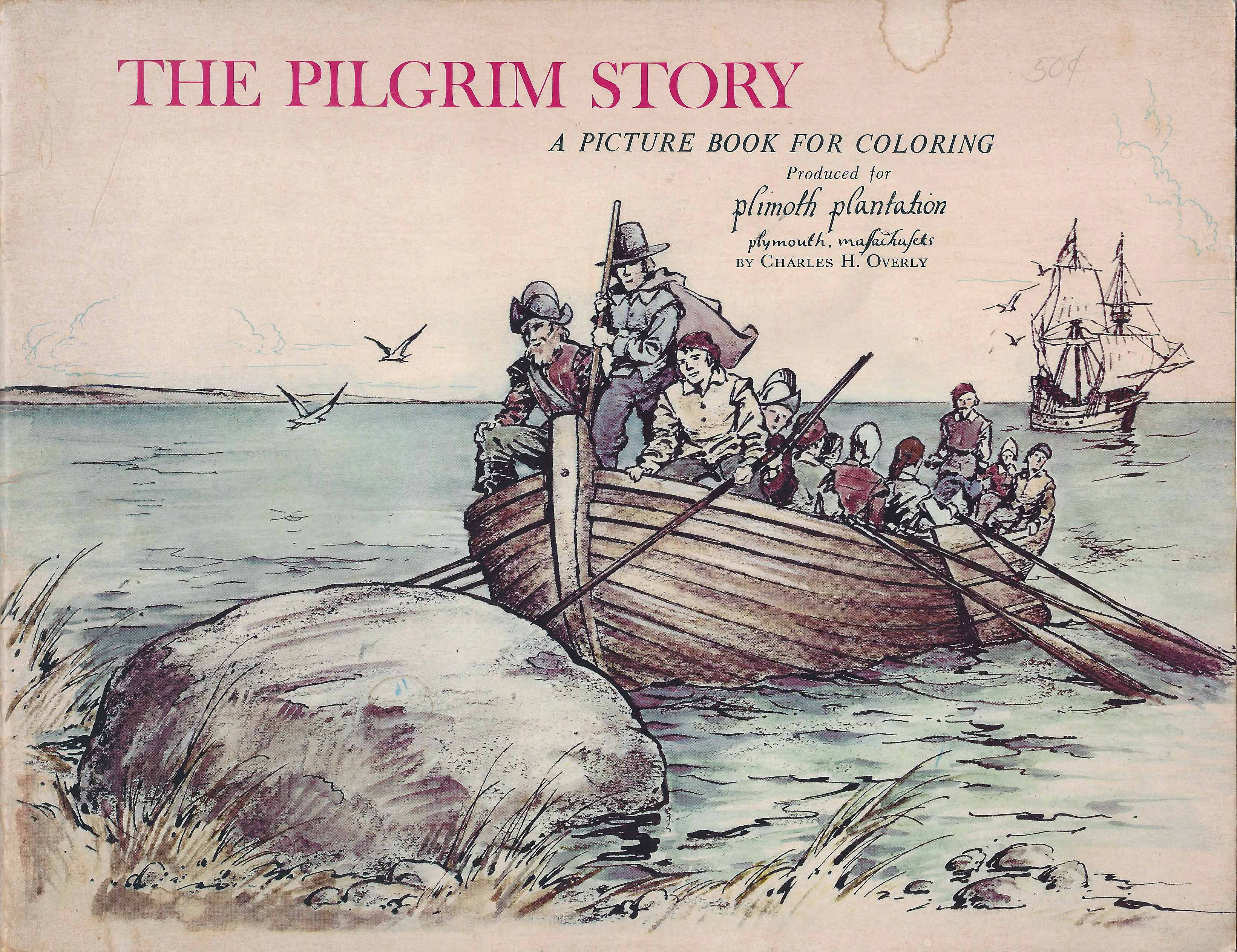 a vintage childrens book illuminates a visit to plymouth plantation  in the th century there were no spelling rules and so you will find  different spellings of the same words in texts from that time often within  the same