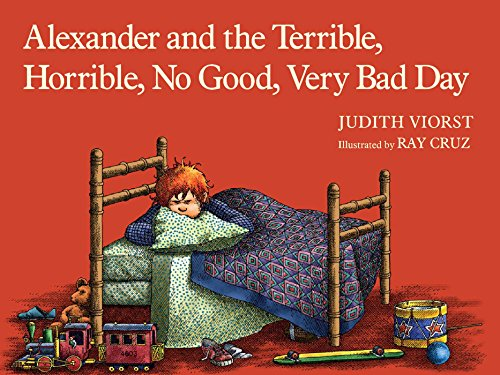 Cover of children's book titled Alexander and the Terrible, Horrible, No Good, Very Bad Day
