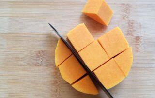 butternut squash cut into cubes